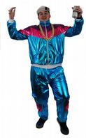 80's Shell Suit Costume (ILFD4528)
